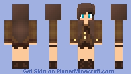 .*=_: Chocolate Girl :_=*. Minecraft Skin