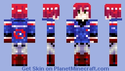 party poison x Minecraft Skin