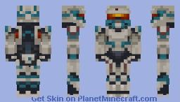 HALO MASH UP Spartan Tanaka Minecraft Skin - Skin para minecraft pe halo
