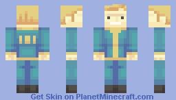 vault boy Minecraft Skin