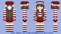 Miss Candycane Minecraft Skin