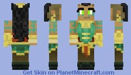 Illaoi (LoL) Minecraft Skin