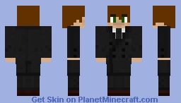 God_Pure in a Suit Minecraft Skin