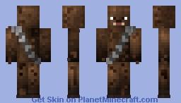 (Resoskins, Series 4 - Star Wars) Chewbacca Skin (Star Wars!) Minecraft Skin