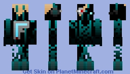 Space cyborg-Hunter{Remake} Minecraft Skin