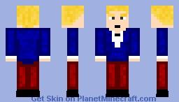 Elegent Sky Minecraft Skin
