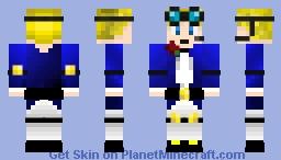 Fancy Sky (DanTDM Style) Minecraft Skin