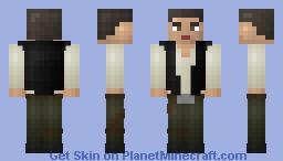 (Resoskins, Series 4 - Star Wars) Han Solo Skin (Star Wars!) Minecraft Skin