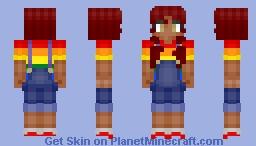 Gay Pride Minecraft Skin
