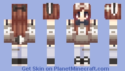 Hey Look! She's Updated. Minecraft Skin