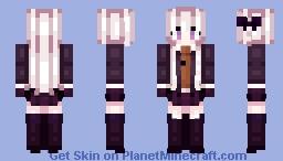 Danganronpa - Kyouko Kirigiri Minecraft Skin