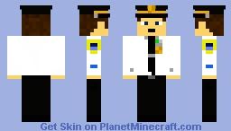 NYPD Lieutenant Minecraft Skin