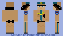 Sheriff V2 (Motorcycle Helmet) Minecraft Skin