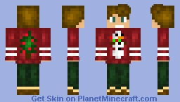 *It's beginning to look a lot like Christmas* (80 subs .-.) Minecraft Skin