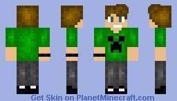 Hello. It's me Minecraft Skin