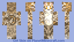 Made my kitten into a skin :) Minecraft Skin