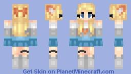 FennecFox Fanskin Minecraft Skin