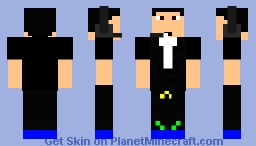 Gentleman/Swimmer Minecraft Skin