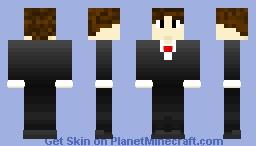 Tuxedo Dude Minecraft Skin