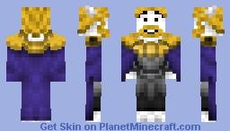 Asgore ( Undertale ) Minecraft Skin