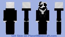W.D Gaster Suit Minecraft Skin