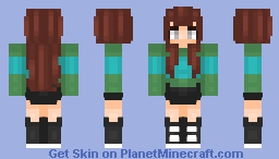 WoodHaven inspired Minecraft Skin