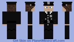 Alcatraz Prison Guard Minecraft Skin