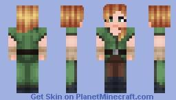 Alex (MC 1.8.0) Minecraft Skin