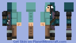 Arthur Johnson - Nuclear Winter Skin Contest Minecraft Skin
