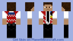 UK Community Warden Minecraft Skin