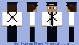 David Tennant - The Traffic Warden (2004) Minecraft Skin