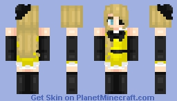 Female Bill Cipher Minecraft Skin