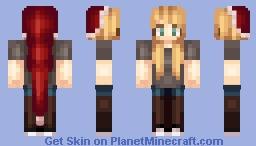 Christmas Day Minecraft Skin