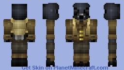 """Nuclear Winter Skin Contest """"Echoman"""" Minecraft Skin"""