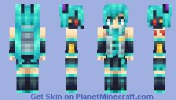 Hatsune Miku - Vocaloid Minecraft Skin