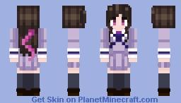 Iki Hiyori from Noragami ~ Anim3 7u7 Minecraft Skin