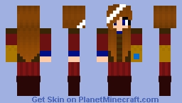 Izzet Guildmage Minecraft Skin
