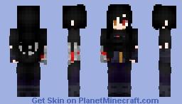 Kide Yoruichi (OC) Minecraft Skin