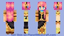 VOCALOID Megurine Luka REDO Minecraft Skin