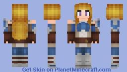 Fire Emblem : Awakening - Female Mercenary Minecraft Skin
