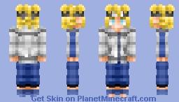 Genin Minato Namikaze (Naruto) Minecraft Skin
