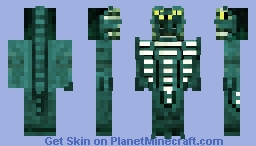 Mutant Ice Viper [Contest Entry] Minecraft Skin