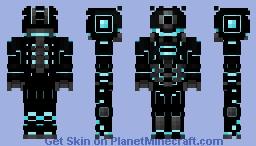 Iron Ninja Minecraft Skin