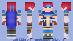 Roy, the Son of Eliwood (FEBB) Alternates coming soon! Minecraft Skin