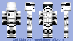 First Order Stormtrooper [Star Wars: The Force Awakens] Minecraft