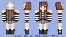 Pale Minecraft Skin