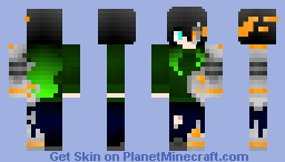Robo Girl [Nuclear Winter Contest Entry] Minecraft Skin
