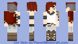 RWBY - Scarlet David Minecraft Skin