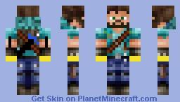 Healed Herobrine Minecraft Skin