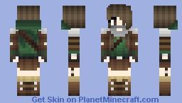 Assassian/Theif Girl Minecraft Skin